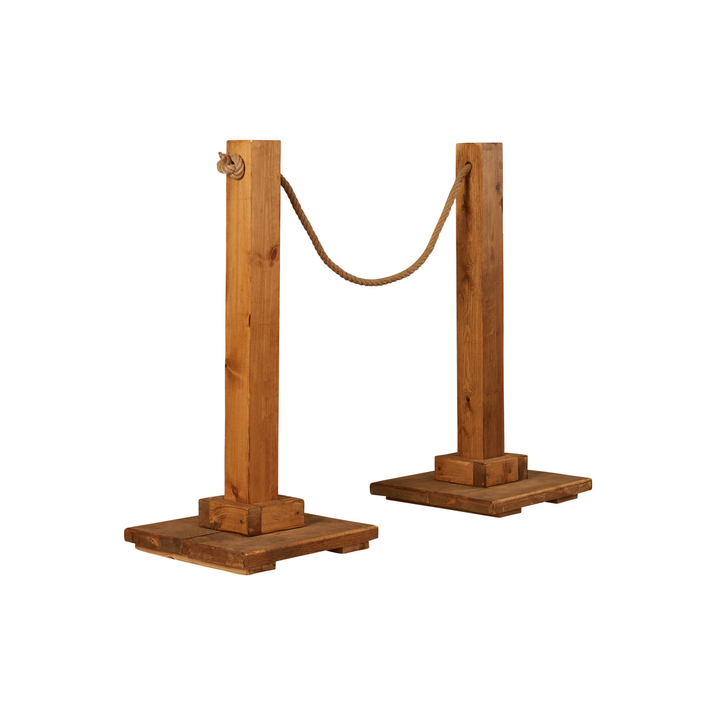 Wooden Post and Rope