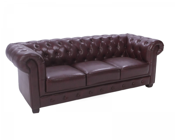 Photo of Product: 3-seater Chesterfield Sofa