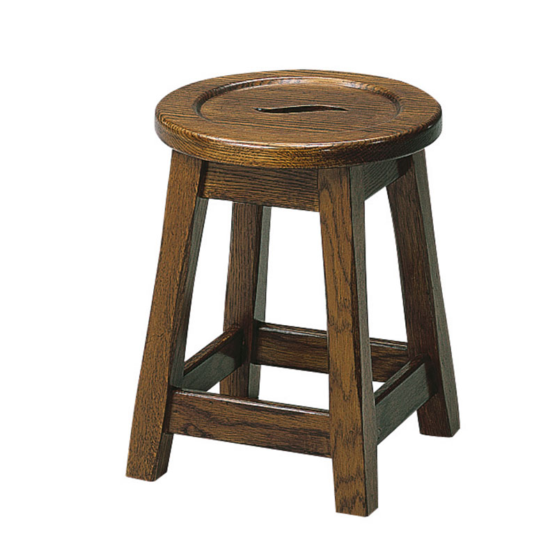 Picture of Low Rustic Oak Stool