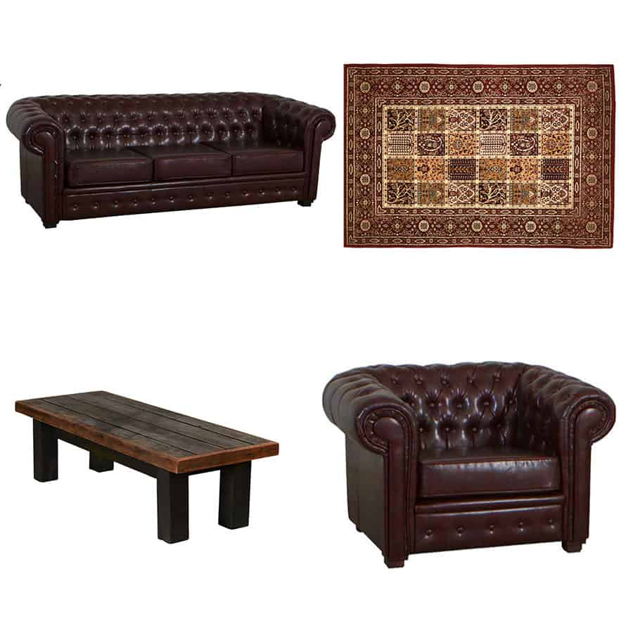 Chesterfield Sofa Hire package
