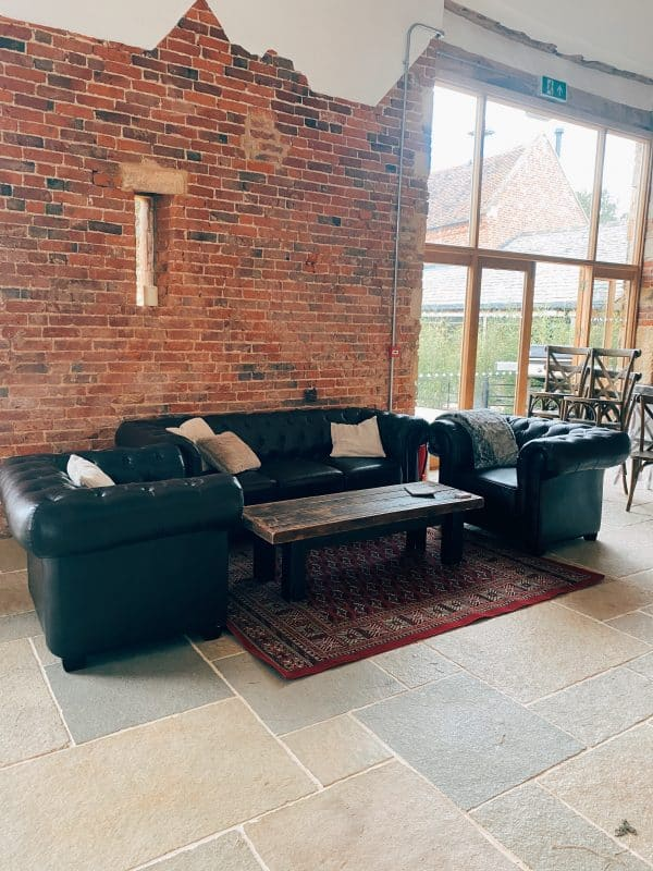 Chill Out Area for wedding hire